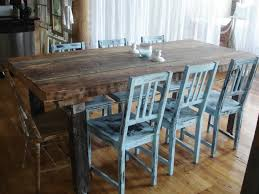 Dining Room Table With Benches Picturesque Rustic Dining Room Table And Chairs High Definition