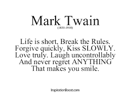 Mark Twain Inspirational Quotes. QuotesGram via Relatably.com