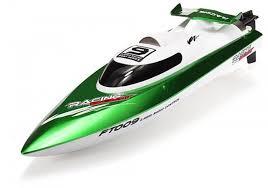 <b>Радиоуправляемый катер Fei</b> Lun High Speed Green Boat 2.4GHz ...