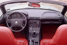 1996 02 bmw z3 consumer guide auto black interior 1996 bmw z3