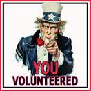 volunteered