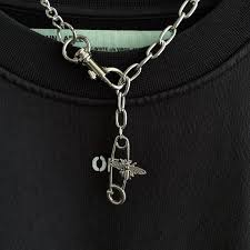 <b>Fashion personality</b> small bee pin necklace men and women ...