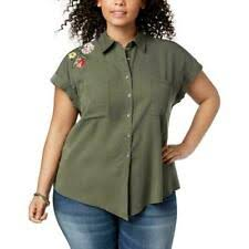 <b>Women's Floral</b> Button Cuff Sleeve Tops & Blouses for sale | eBay