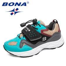 BONA <b>2019 New</b> Casual Shoes Wearable Walking Footwear ...