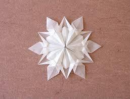 Звезда из специальной бумаги   <b>Золотая нить</b>