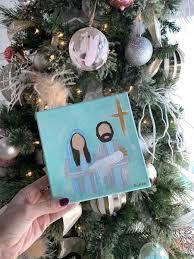 <b>Nativity Scene</b> Canvas – ZIA Boutique
