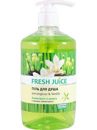 5% <b>Fresh</b> Juice <b>Гель</b> для <b>душа</b> Lemongrass & Vanilla 750мл с ...