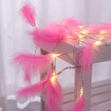 2,2 м светильник <b>гирлянда с перьями</b>, сказочный светильник ...