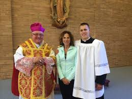 Image result for Bishop Morlino Madison seminarians