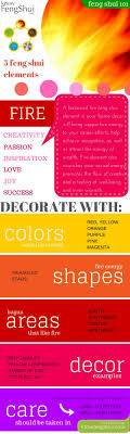fire feng shui decor infographic bringing feng shui office