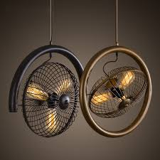 american country style loft pendant lights industrial loft cafe bar living room bedroom creative fan shape suspension lamp in pendant lights from lights american country style loft