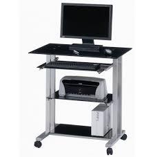 medium size of computer desk black computer desk with keyboard tray computer stand for desk extra black computer desks
