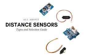 Types of Distance Sensor and how to select one? - Latest open tech ...