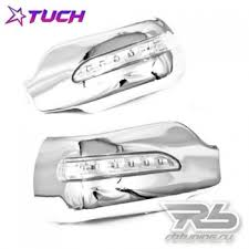 <b>LED Накладки на</b> зеркала <b>хром</b> с поворотниками Mazda 2 3 6 ...