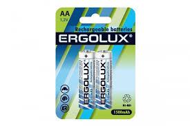 <b>Аккумулятор</b> AA-1500mAh Ni-Mh BL-2 <b>Ergolux</b> — купить в Москве ...