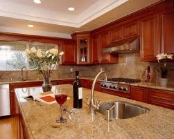 kitchen cabinets with granite countertops:  images about kitchen ideas on pinterest stone backsplash countertops and wood cabinets