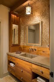 pendant modern bathroom lighting above single sink bathroom vanity and large mirror medium size bathroom vanity lights pendant