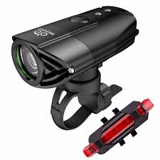 BIKEONO 1200 Lumens Bicycle Light <b>Bike Headlight</b> LED <b>Taillight</b> ...