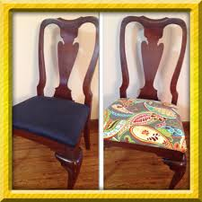 Dining Room Chair Reupholstery How To Reupholster Dining Room Chairs Intentional Living For