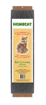 <b>Homecat когтеточка ковровая с</b> кошачьей мятой малая 58 х 10 см ...