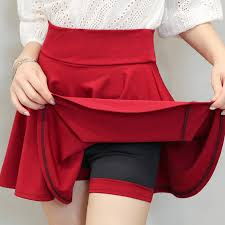 Pleated Skirts Womens Elegant Women Mini Skirt Plus Size Woman ...
