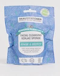 Очищающий <b>спонж конняку для лица</b> Beauty Kitchen - Seahorse ...