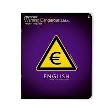 """<b>Тетрадь</b> в клетку """"<b>Очень опасный предмет</b>"""" Английский язык ..."""