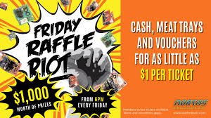 weekly promotions norths devils leagues club j11892 friday raffle riot promo 1890 x 1063px