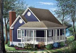 House Plans   Porches   Wrap Around Porch House PlansSmall cottage   porch from Family Home Plans