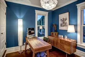 tags blue home office dark wood