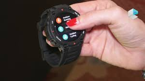 <b>Amazfit T</b>-Rex rugged smartwatch - YouTube