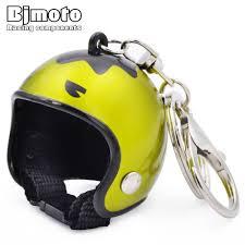 <b>BJMOTO</b> Cool Car <b>Motorcycle</b> Helmet Keychain Key Chains Mini ...