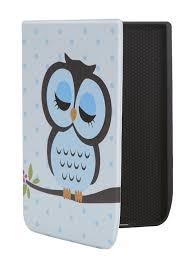 <b>Аксессуар Чехол BookCase</b> для Pocketbook 740 Print Owl BC ...