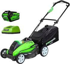 Колесная <b>газонокосилка Greenworks G</b> 40 LM 45 K4 2500107 VB ...
