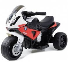 Детский <b>электромотоцикл Jiajia BMW S1000RR</b> Red 6V - JT5188 ...