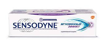 <b>Зубная паста Sensodyne</b> Мгновенный Эффект | GSK Health Partner