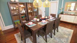 room simple dining sets: simple diy black painted wood plank dining table furniture design enchanting two cage bulb hanging lights dining room