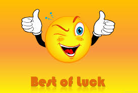 Image result for best of luck image