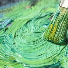 Mixing Green Paint: A Step-by-Step Photo Tutorial