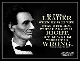 Abraham Lincoln on Leadership | jd4c via Relatably.com