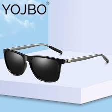 YOJBO Luxury Brand Pilot Sunglasses Men Polarized Points ...