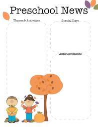 preschool newsletter templates best business template the crafty teacher preschool newsletter template g9pne718