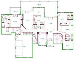 bedroom ranch house plans floor ranch house plans classic ramblers amp split level raised ranch