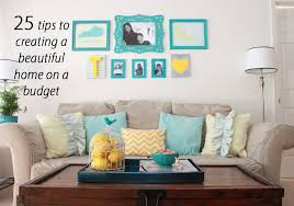Small Picture How to decorate your home on a budget