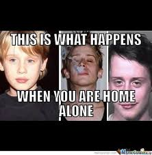 Home Alone Memes. Best Collection of Funny Home Alone Pictures via Relatably.com