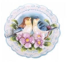 Купить <b>Тарелка декоративная</b> настенная <b>Lefard</b> Птицы на ...