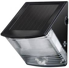 <b>Solar LED Wall Lamp</b> SOL 04 plus IP44 with PIR sensor 2xLED 0 ...