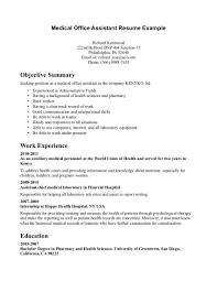 administrative assistant job resume sample job resume objective administrative assistant job resume sample assistant medical job resume inspiration medical assistant job resume full size