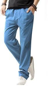 SIR7 <b>Men's</b> Linen Casual Lightweight Drawstrintg <b>Elastic</b> Waist ...