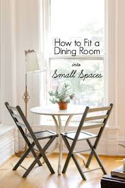 Dining Room Sets For Small Apartments How To Fit A Dining Room Into Small Spaces Apartment Therapy